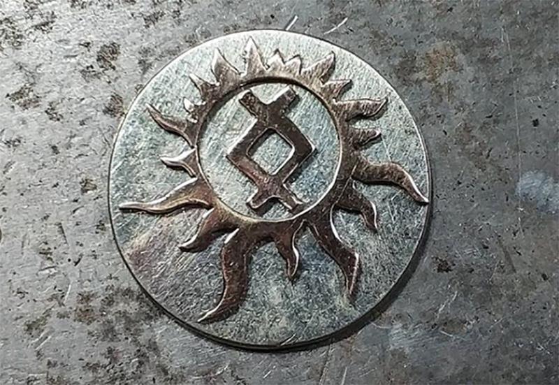 ингуз в солнечном круге